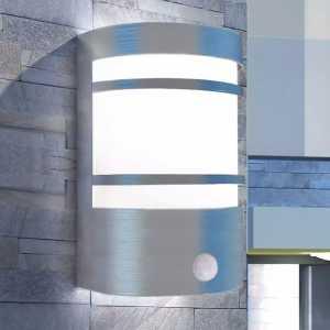 Φωτιστικό Τοίχου Εξωτερικού Χώρου με Αισθητήρα από Ανοξ. Ατσάλι
