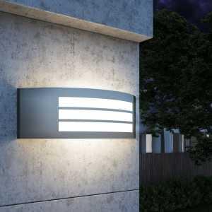 Φωτιστικό Τοίχου Εξωτερικού Χώρου από Ανοξείδωτο Ατσάλι
