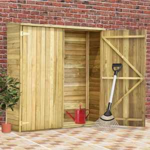 Αποθήκη Εργαλείων Κήπου 163x50x171 εκ. Εμποτισμένο Ξύλο Πεύκου