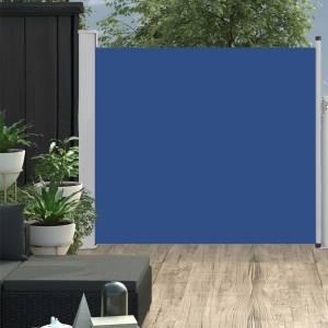 Σκίαστρο Πλαϊνό Συρόμενο Βεράντας Μπλε 100 x 300 εκ.