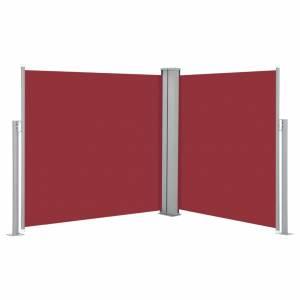 Σκίαστρο Πλαϊνό Συρόμενο Κόκκινο 100 x 600 εκ.