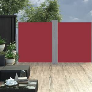Σκίαστρο Πλαϊνό Συρόμενο Κόκκινο 170 x 600 εκ.