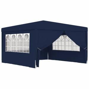 Κιόσκι Επαγγελματικό με Τοιχώματα Μπλε 4 x 4 μ. 90 γρ./μ²