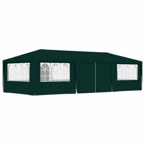 Κιόσκι Επαγγελματικό με Τοιχώματα Πράσινο 4 x 9 μ. 90 γρ./μ²