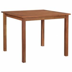 Τραπέζι Κήπου 85 x 85 x 74 εκ. από Μασίφ Ξύλο Ακακίας