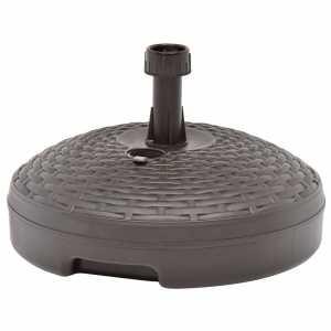 Βάση Ομπρέλας Καφέ 20 Λίτρα Πλαστική για Άμμο / Νερό