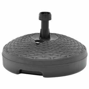 Βάση Ομπρέλας Ανθρακί 20 Λίτρα Πλαστική για Άμμο / Νερό