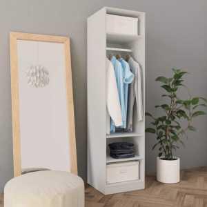 Ντουλάπα Λευκή 50 x 50 x 200 εκ. από Μοριοσανίδα