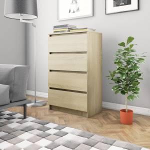 Συρταριέρα Sonoma Δρυς 60 x 35 x 98,5 εκ. από Μοριοσανίδα