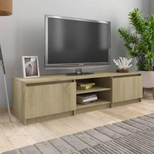 Έπιπλο Τηλεόρασης Sonoma Δρυς 140x40x35,5 εκ. από Μοριοσανίδα