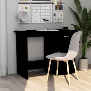 Γραφείο Μαύρο 100 x 50 x 76 εκ. από Μοριοσανίδα