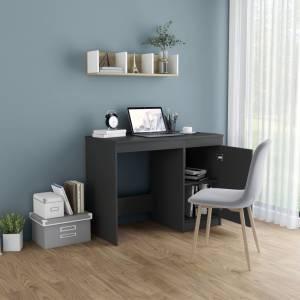 Γραφείο Γκρι 100 x 50 x 76 εκ. από Μοριοσανίδα
