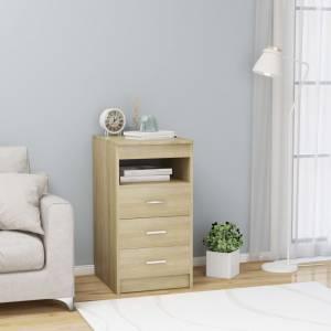 Συρταριέρα Sonoma Δρυς 40 x 50 x 76 εκ. από Μοριοσανίδα