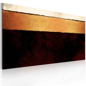 Χειροποίητα ζωγραφισμένος πίνακας - The Earth's layers 120x60