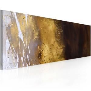 Χειροποίητα ζωγραφισμένος πίνακας - Seashore in close-up 100x40