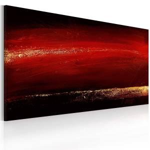 Χειροποίητα ζωγραφισμένος πίνακας - Red lipstick 120x60