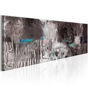Χειροποίητα ζωγραφισμένος πίνακας - Silver Machine 120x40