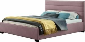 Επενδυμένο κρεβάτι Collex-Lila-Mov-140 x 200