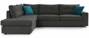 Γωνιακός καναπές Hanson-Gkri-Αριστερή