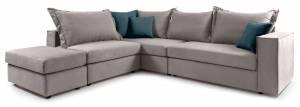 Γωνιακός καναπές Colider-Gkri Anoixto