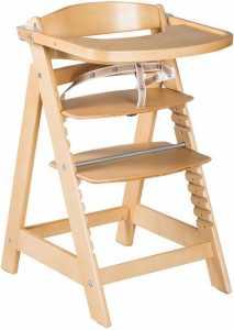 Καρέκλα φαγητού Click  Fun - Φυσικό