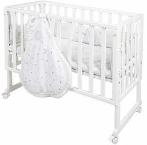 Κρεβάτι βρεφικό Halden – Λευκό