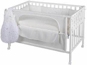Κρεβάτι βρεφικό Bremen – Λευκό