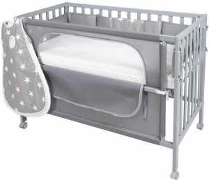 Κρεβάτι βρεφικό Bremen – Γκρι