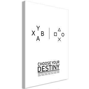 Πίνακας - Choose Your Destiny (1 Part) Vertical - 40x60