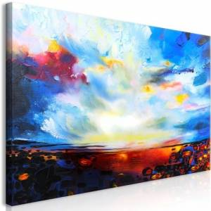Πίνακας - Colourful Sky (1 Part) Wide - 70x35