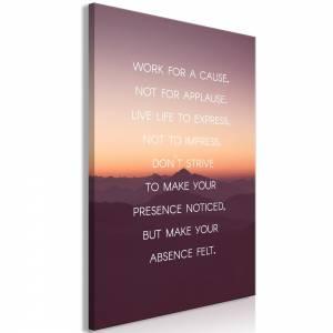 Πίνακας - Make Your Absence Felt (1 Part) Vertical - 60x90