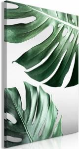 Πίνακας - Monstera Leaves (1 Part) Vertical - 60x90