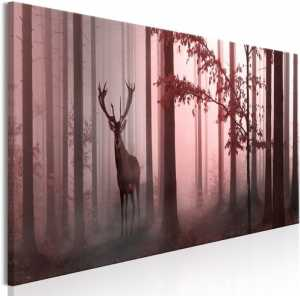 Πίνακας - Morning (1 Part) Narrow Pink - 135x45