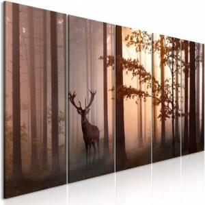 Πίνακας - Morning (5 Parts) Narrow Brown - 200x80