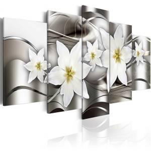 Πίνακας - Mysterious lilies - 200x100