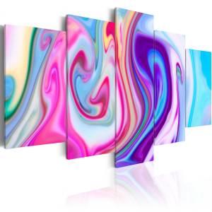 Πίνακας - Pastel ponds - 200x100