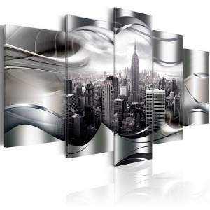 Πίνακας - Platinum New York - 200x100
