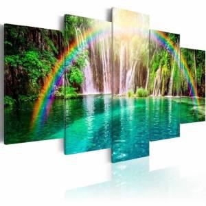 Πίνακας - Rainbow time - 200x100