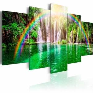 Πίνακας - Rainbow time II - 200x100