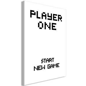 Πίνακας - Start New Game (1 Pat) Vertical - 40x60