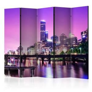 Διαχωριστικό με 5 τμήματα - Purple Melbourne II [Room Dividers]