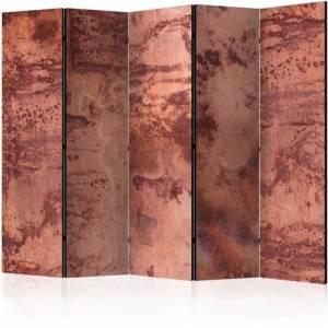 Διαχωριστικό με 5 τμήματα - Red Metal Sheet II [Room Dividers]