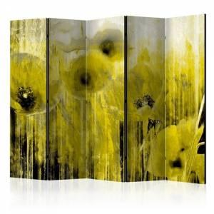 Διαχωριστικό με 5 τμήματα - Yellow madness II [Room Dividers]