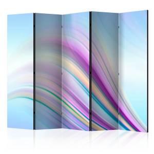 Διαχωριστικό με 5 τμήματα - Rainbow abstract background II [Room Dividers]