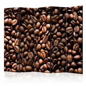 Διαχωριστικό με 5 τμήματα - Roasted coffee beans II [Room Dividers]