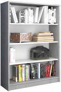 Βιβλιοθήκη Ronell-Gkri-Leuko-Ύψος: 112 εκ.