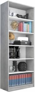 Βιβλιοθήκη Ronell-Gkri-Leuko-Ύψος: 189 εκ.