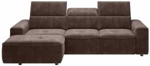 Γωνιακός καναπές Cenedra mini-Αριστερή-Kafe