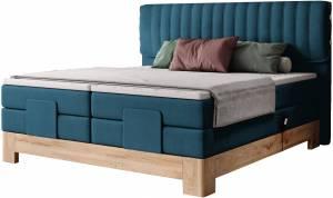 Επενδυμένο κρεβάτι Erica με στρώμα και ανώστρωμα-140 x 200-Mple