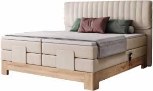 Επενδυμένο κρεβάτι Erica με στρώμα και ανώστρωμα-160 x 200-Mpez
